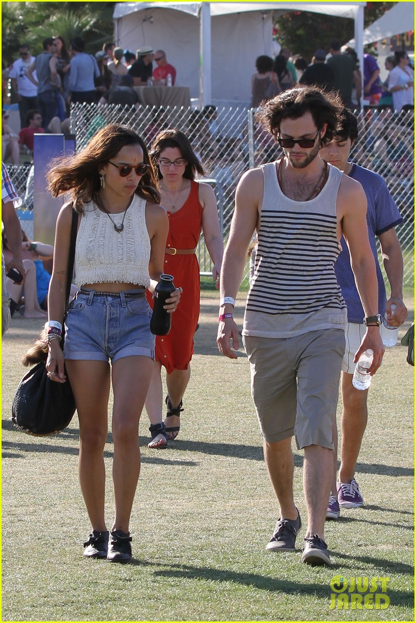 zoe kravitz penn badgley coachella final day 03