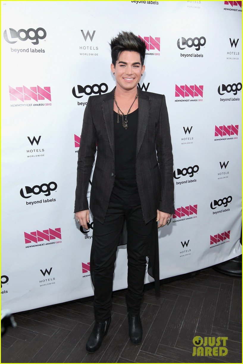 adam lambert logo newnownext awards 14
