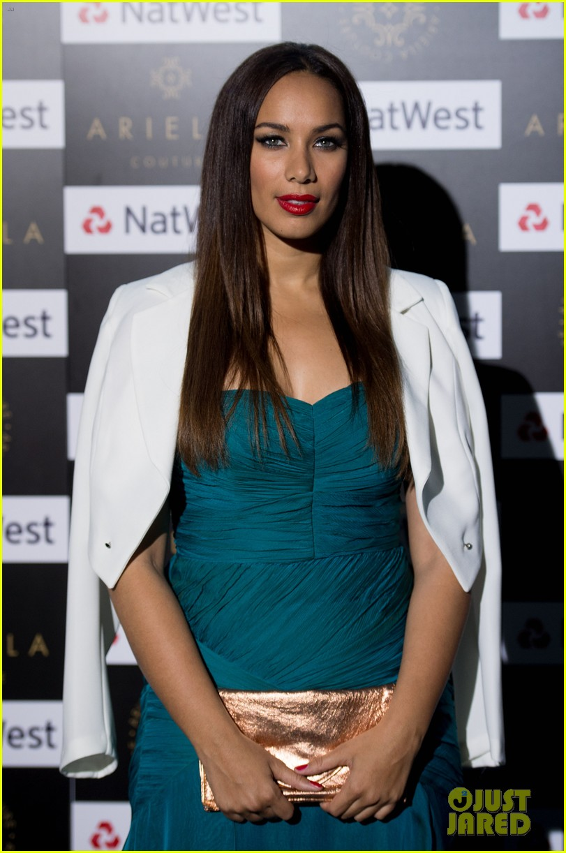 leona lewis ariella couture fashion show 03