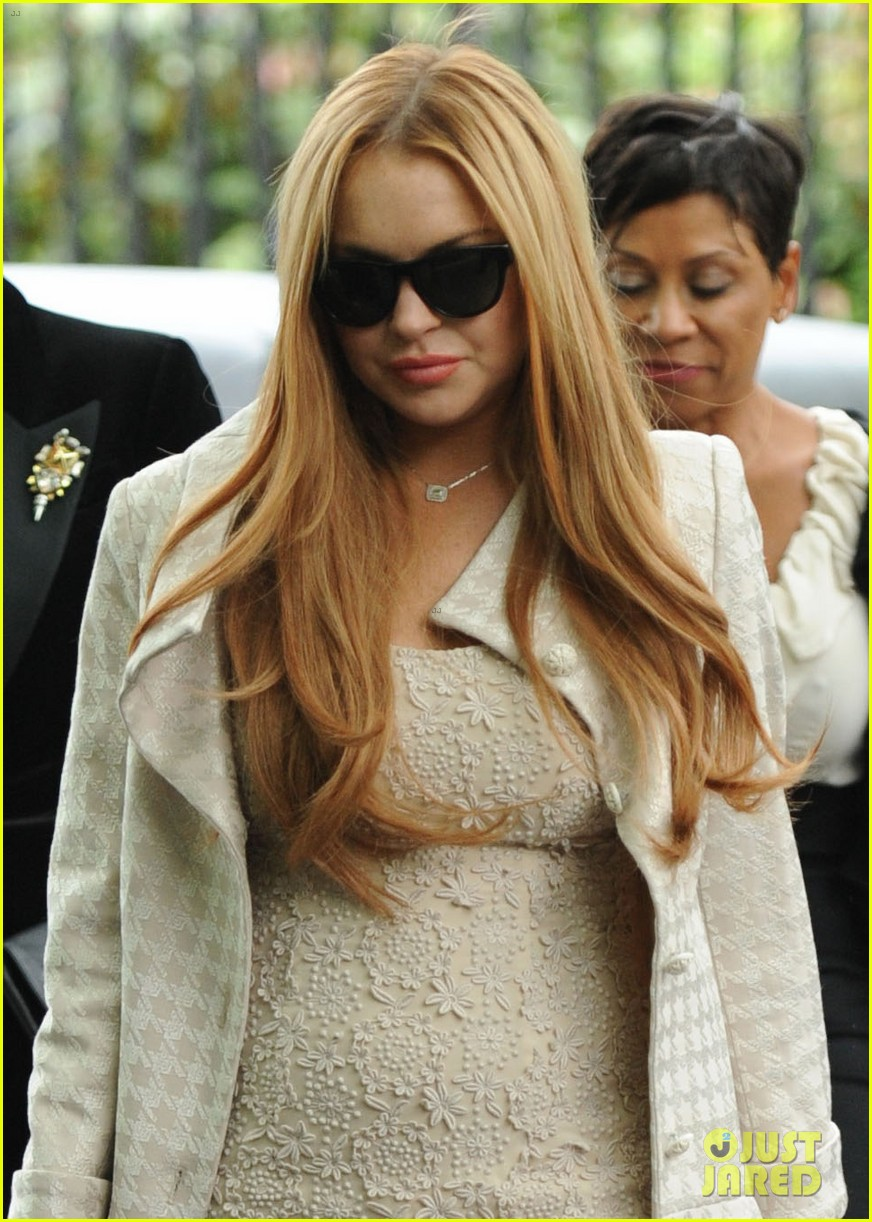 lindsay lohan white house weekend brunch 02
