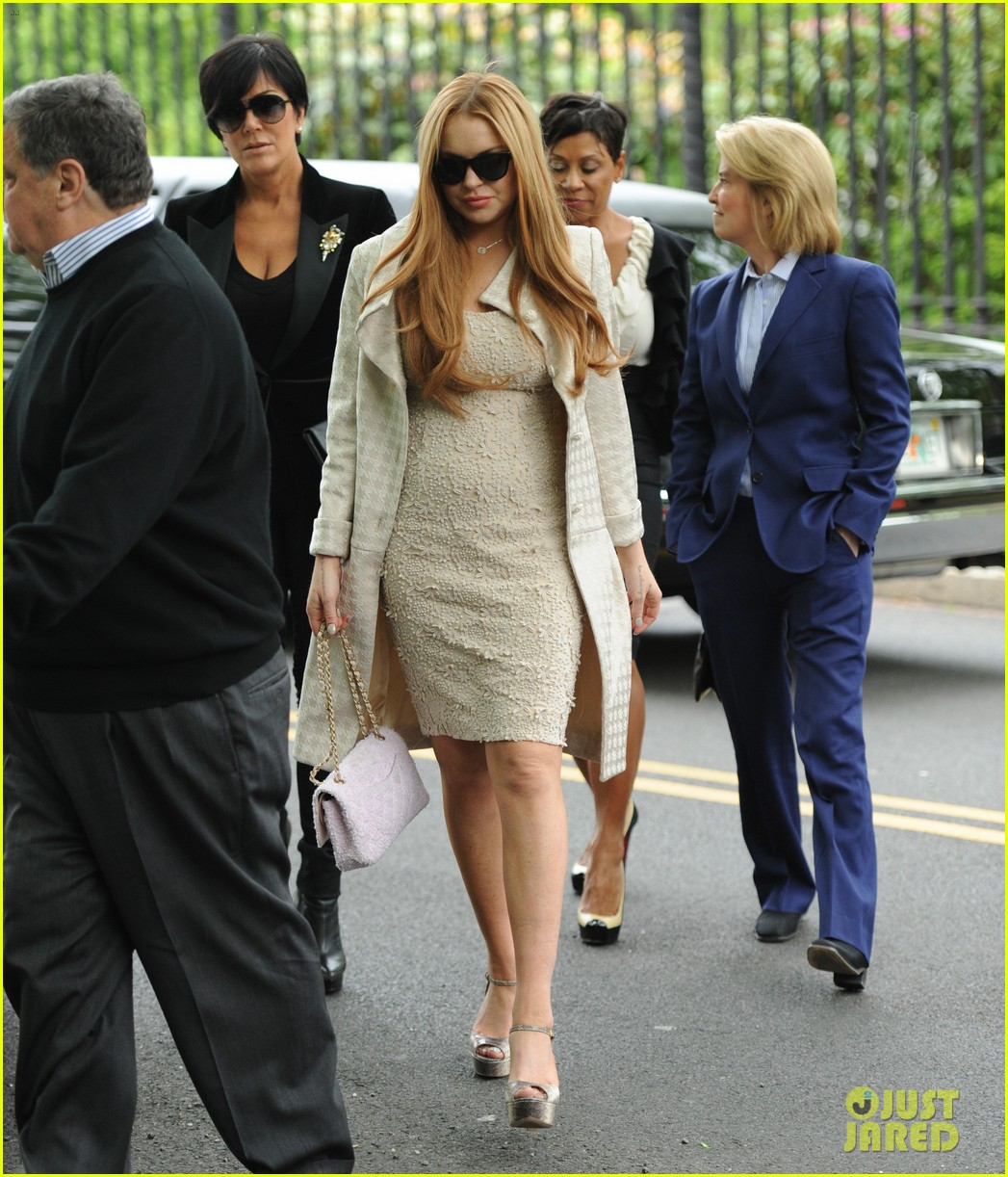 lindsay lohan white house weekend brunch 05