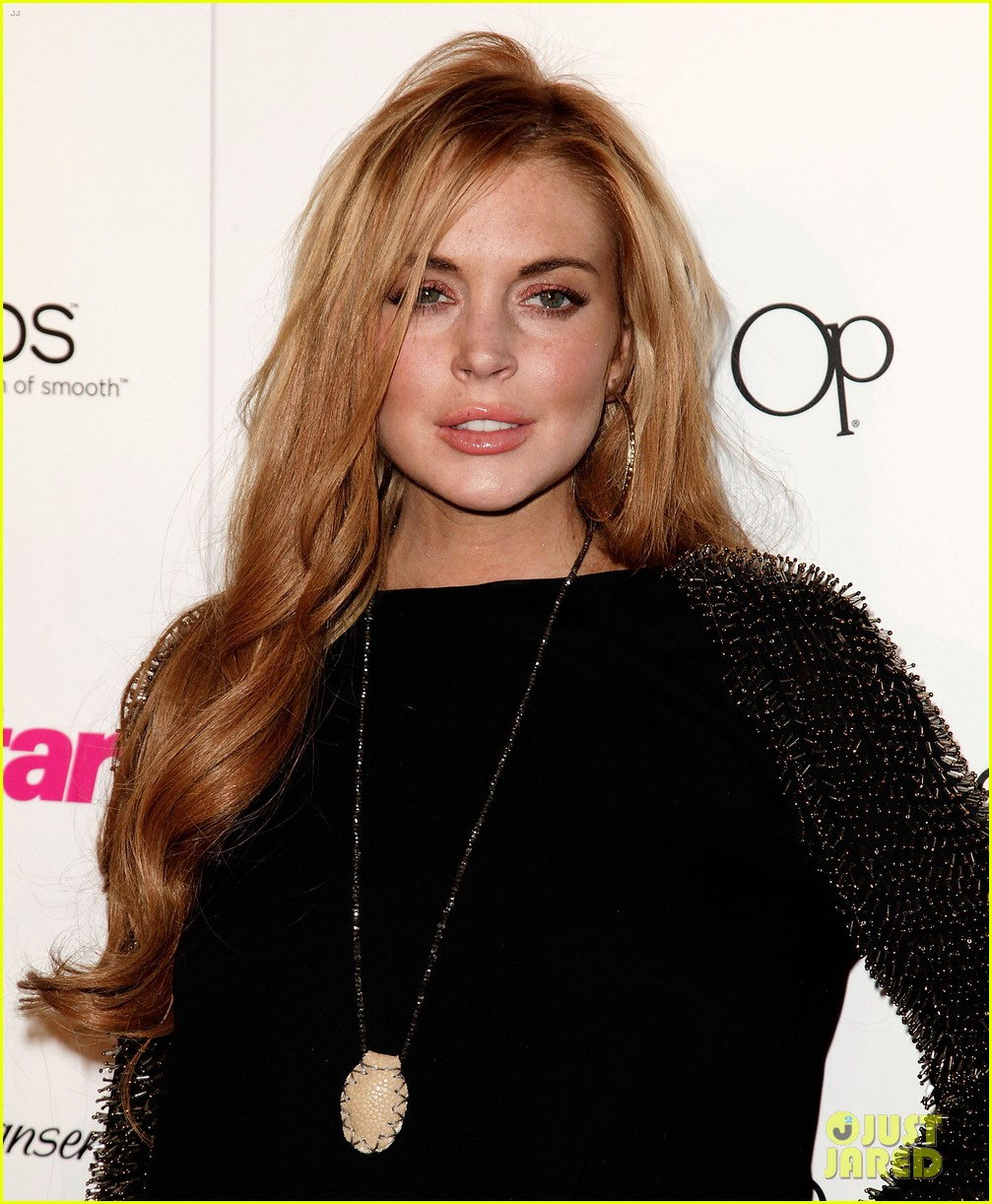 lindsay lohan star magazines all hollywood party 042653546