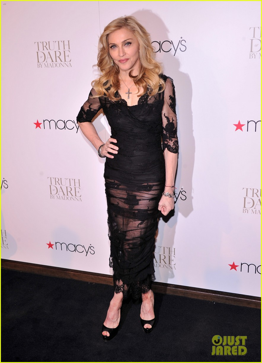 madonna truth or dare fragrance launch 03