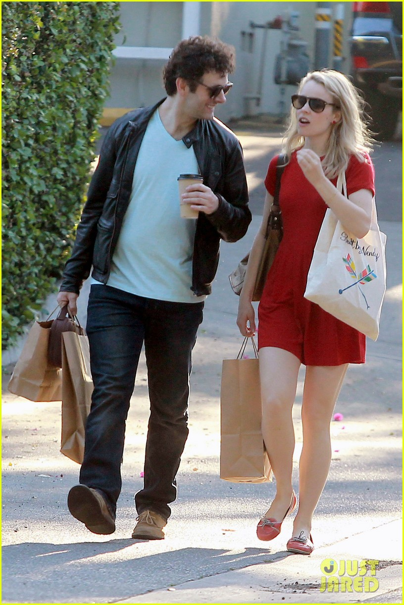 rachel mcadams michael sheen shopping 02