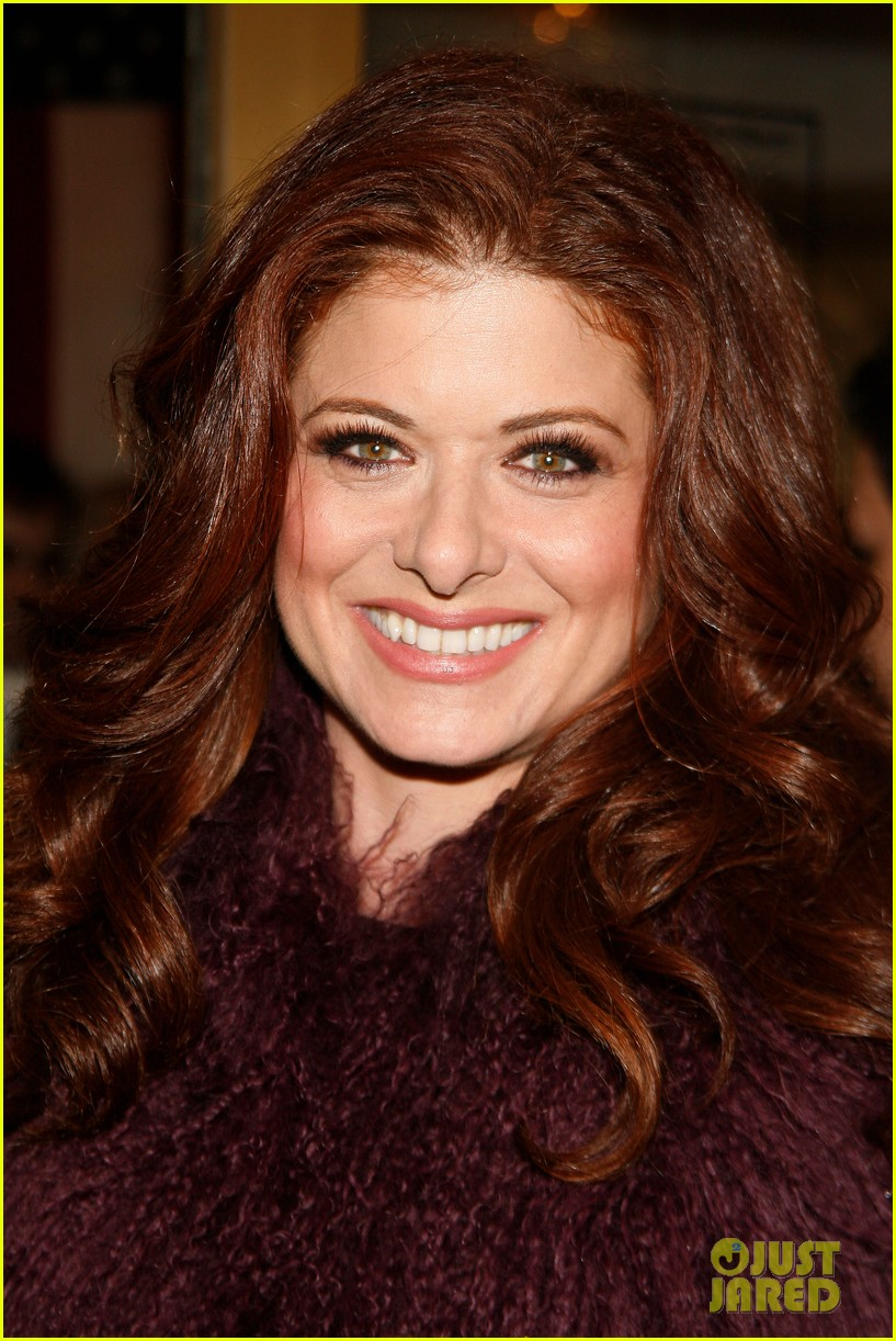 debra messing topher grace best man opening 032644504
