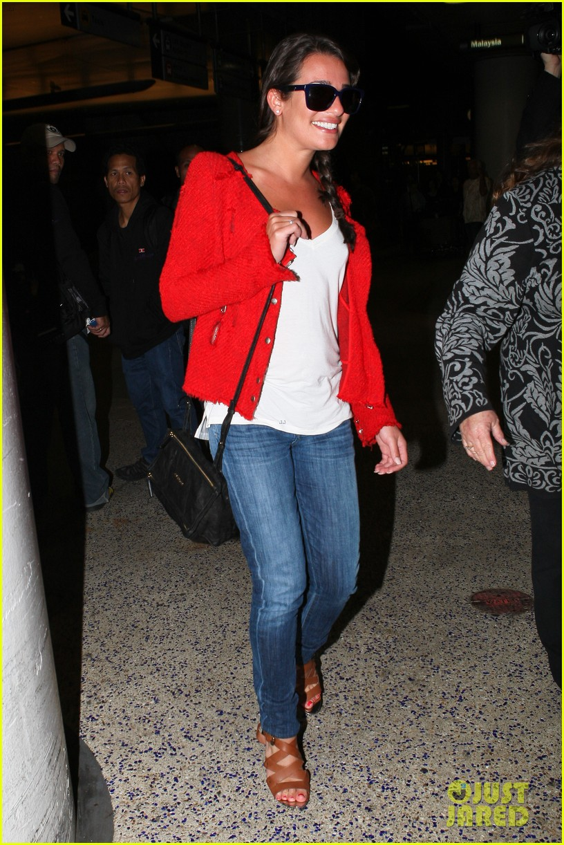 lea michele cory monteith lax 05