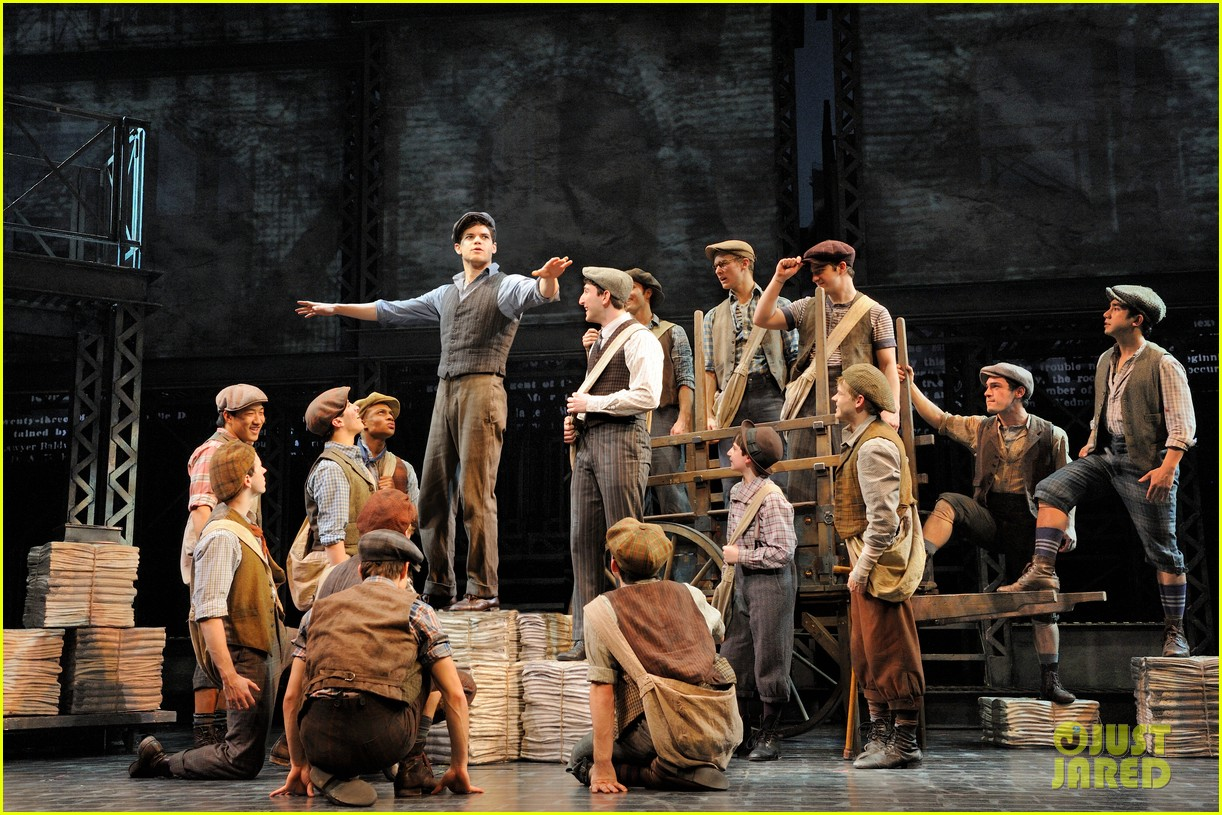 newsies on broadway 092650389