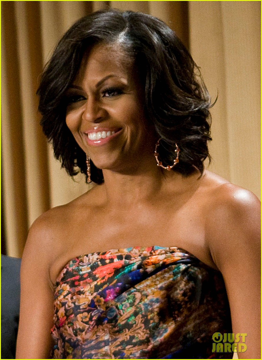 barack michelle obama white house correspondents dinner 03