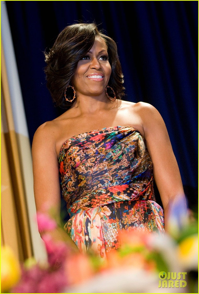 barack michelle obama white house correspondents dinner 05