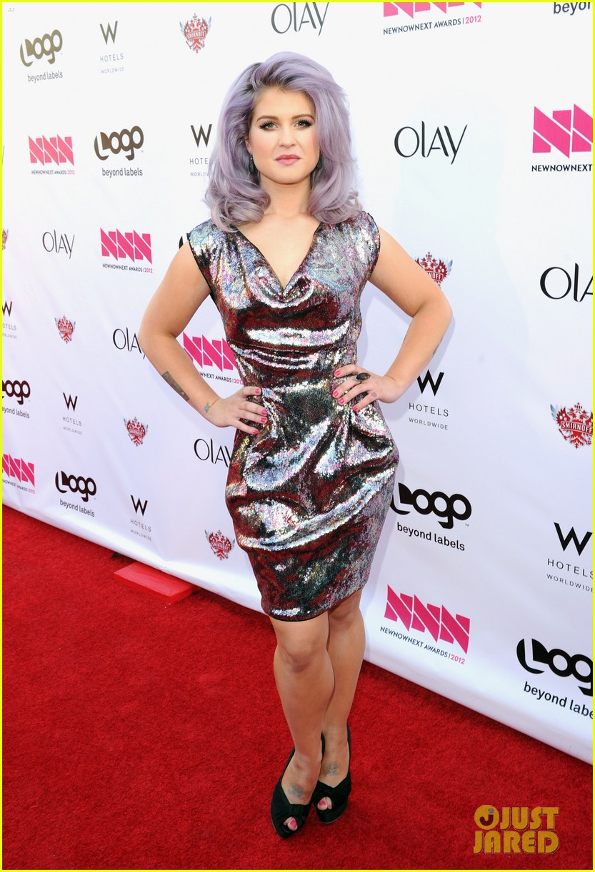 kelly osbourne logo newnownext awards 07