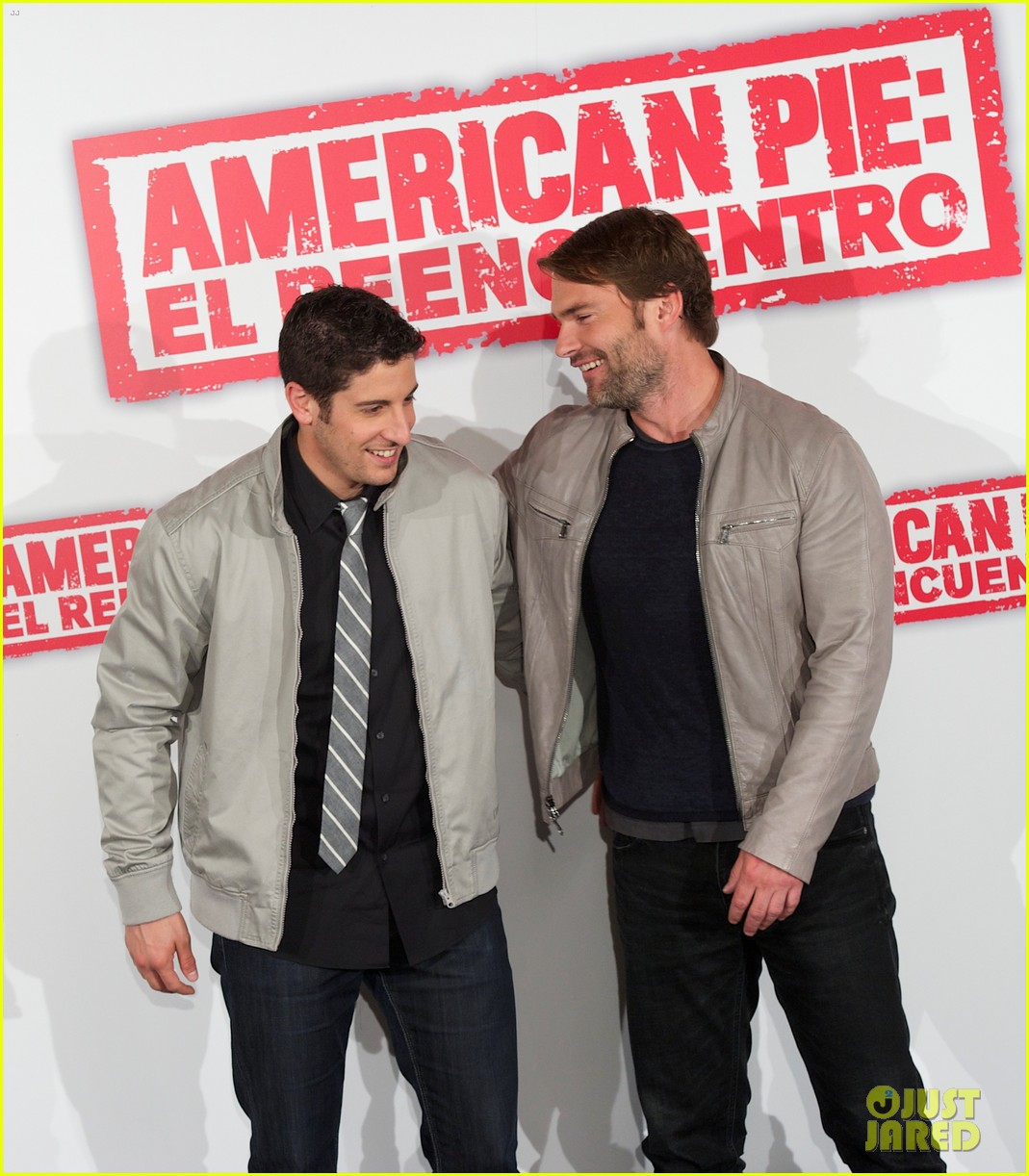 jason biggs seann william scott american reunion madrid 20