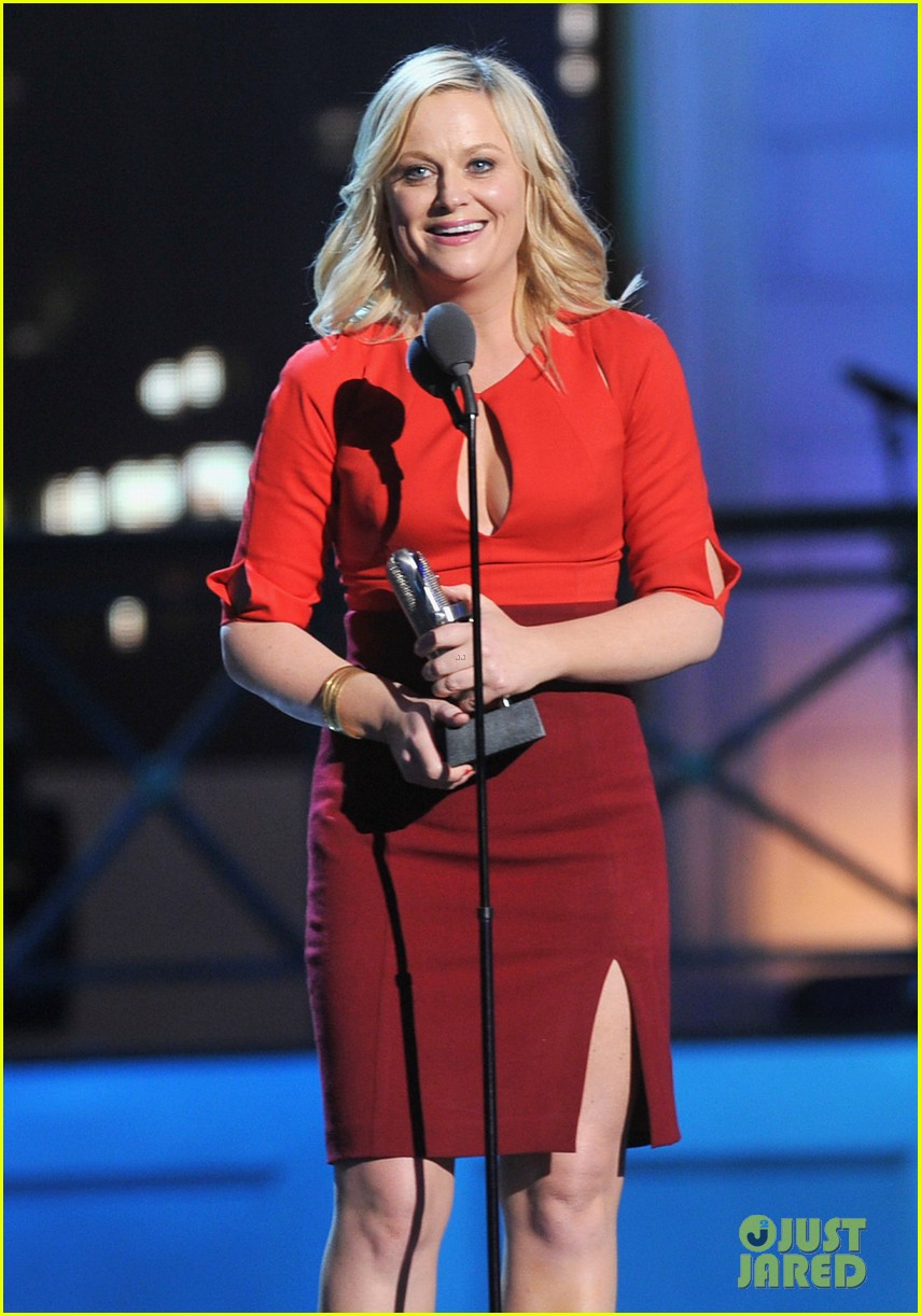 amy poehler best actress at comedy awards 2012 08