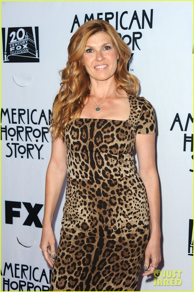 zachary quinto connie britton american horror story screening 03