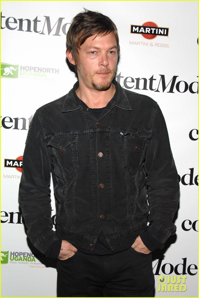norman reedus kate mara fundraiser 03