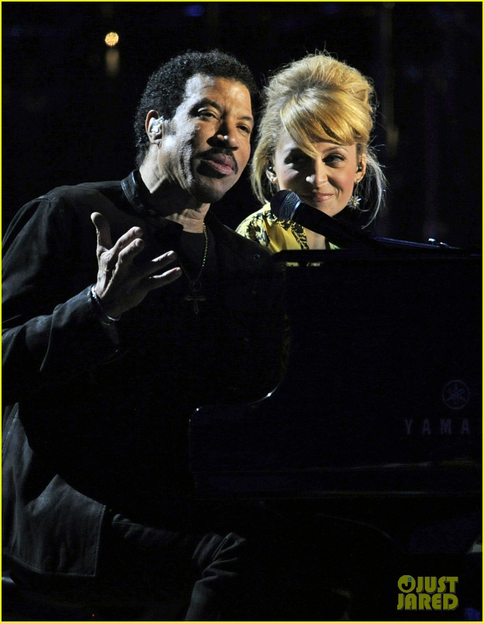 nicole richie lionel richie friends in concert 05
