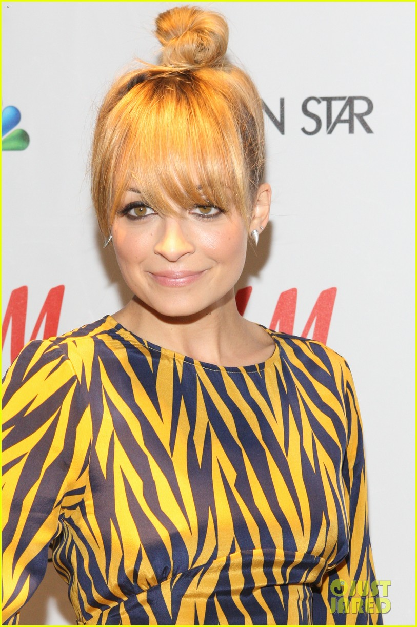 nicole richie hm fashion star celebration with john varvatos 02