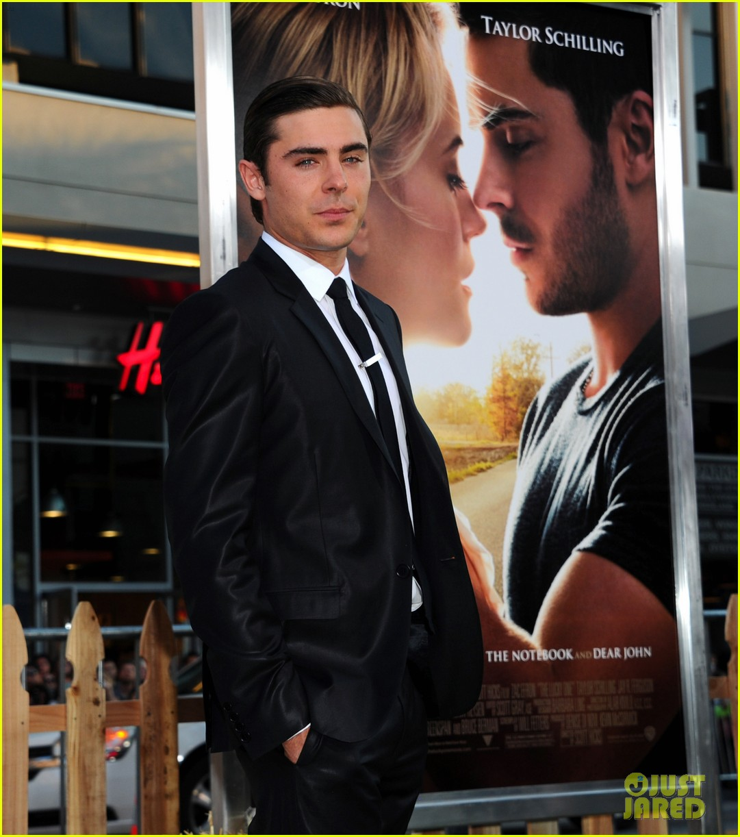 zac efron lucky one premiere 19