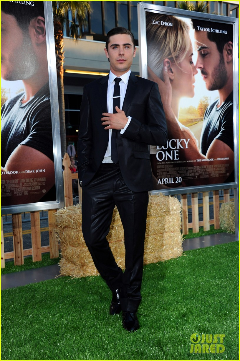 zac efron lucky one premiere 20