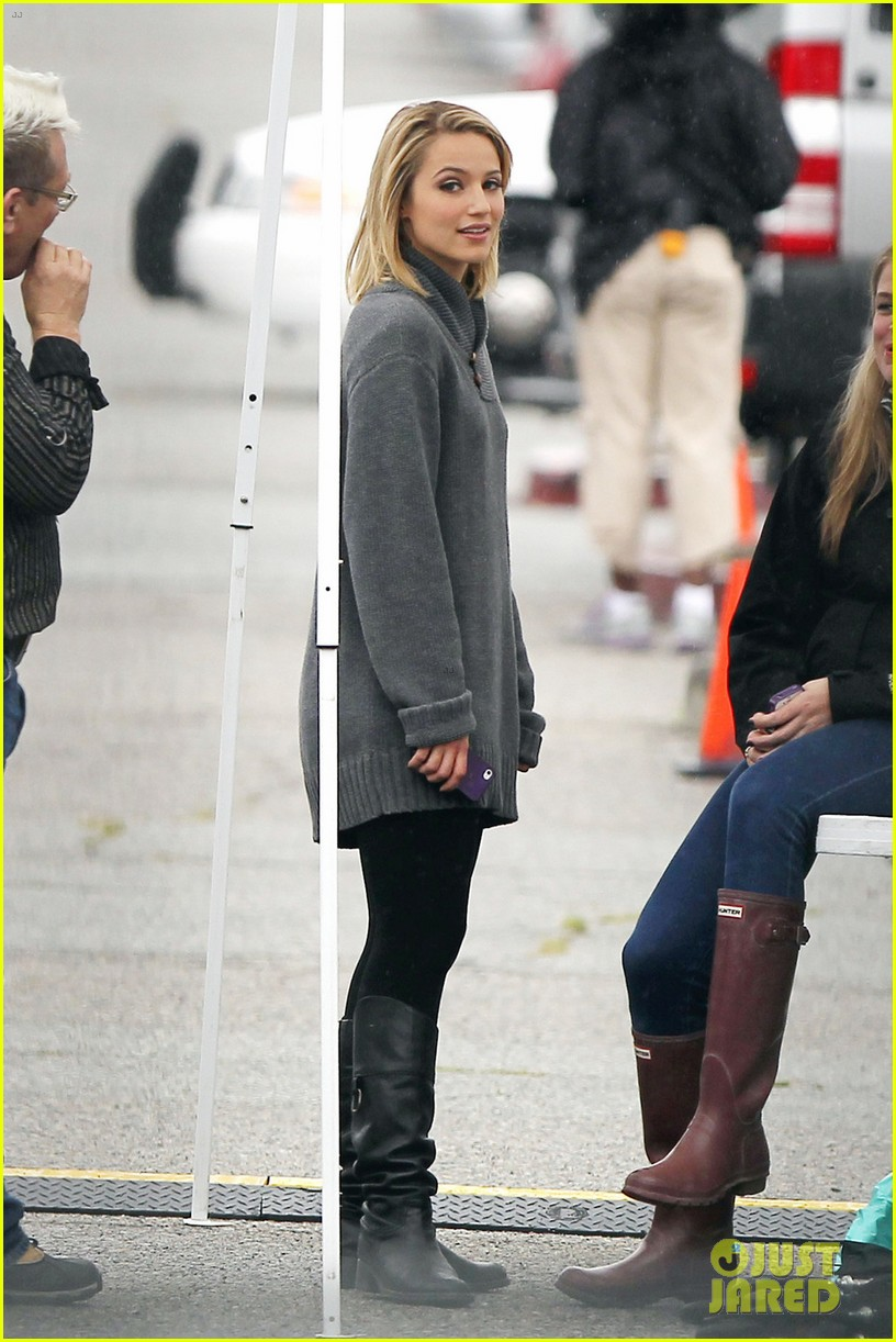 dianna agron leaving glee 01