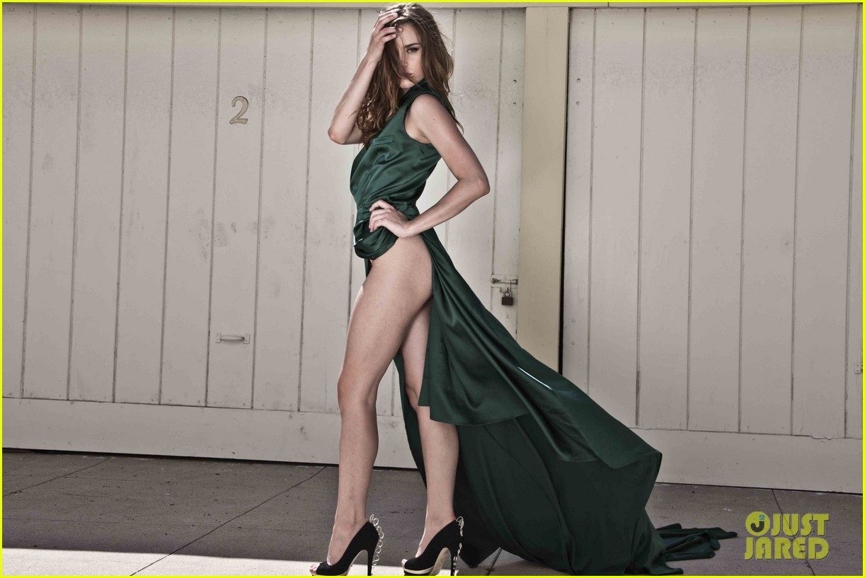 christa b allen champagne heels photo shoot 02