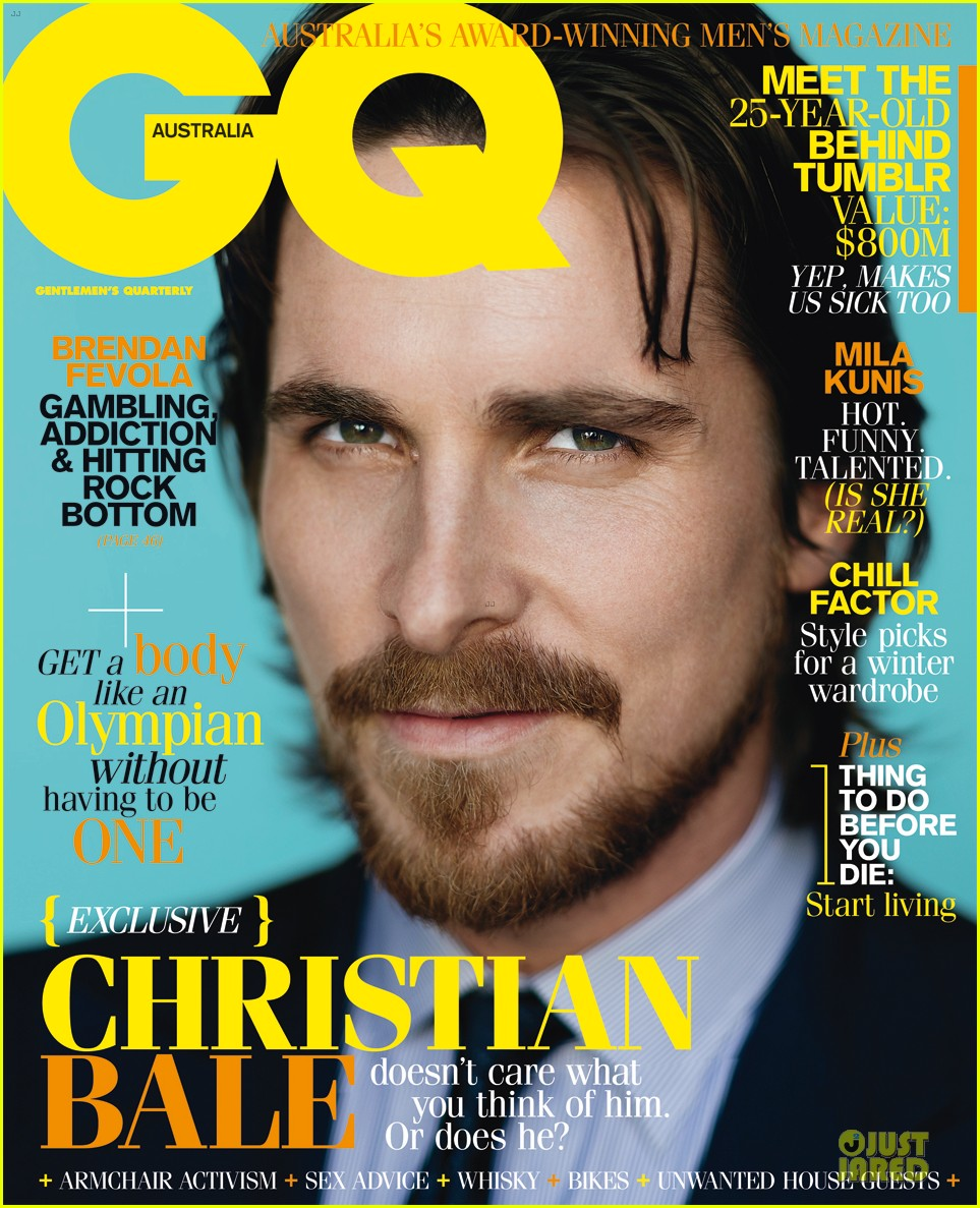 christian bale gq australia june july 01