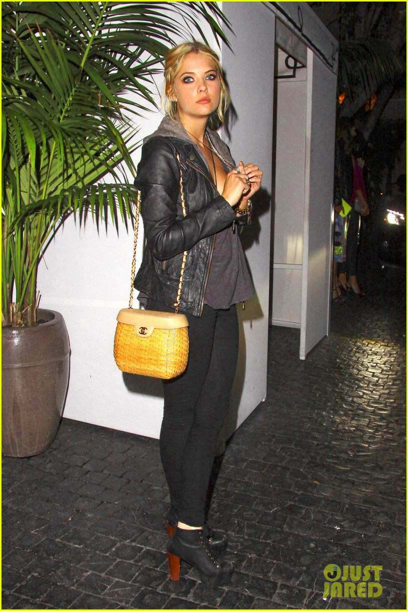 ashley benson leaving marmont 012667031