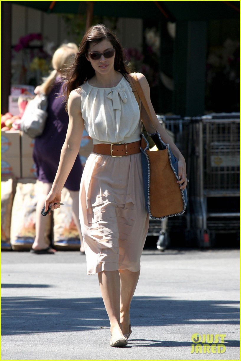 jessica biel grocery shopping 09