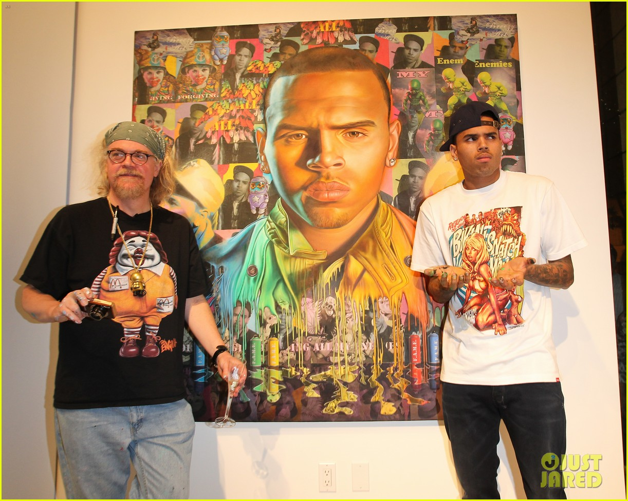 chris brown dum english toy launch 11