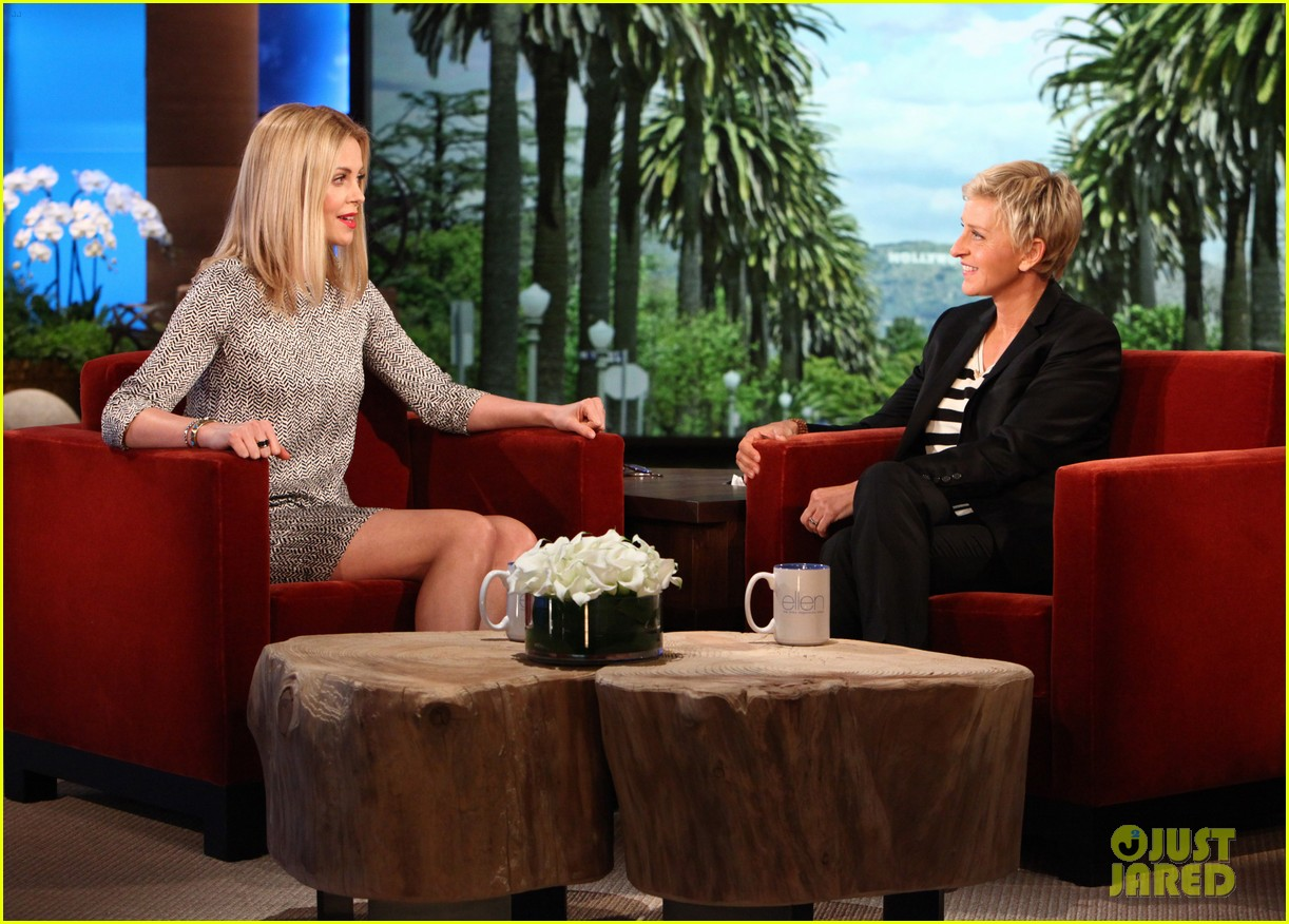 charlize theron ellen show 01