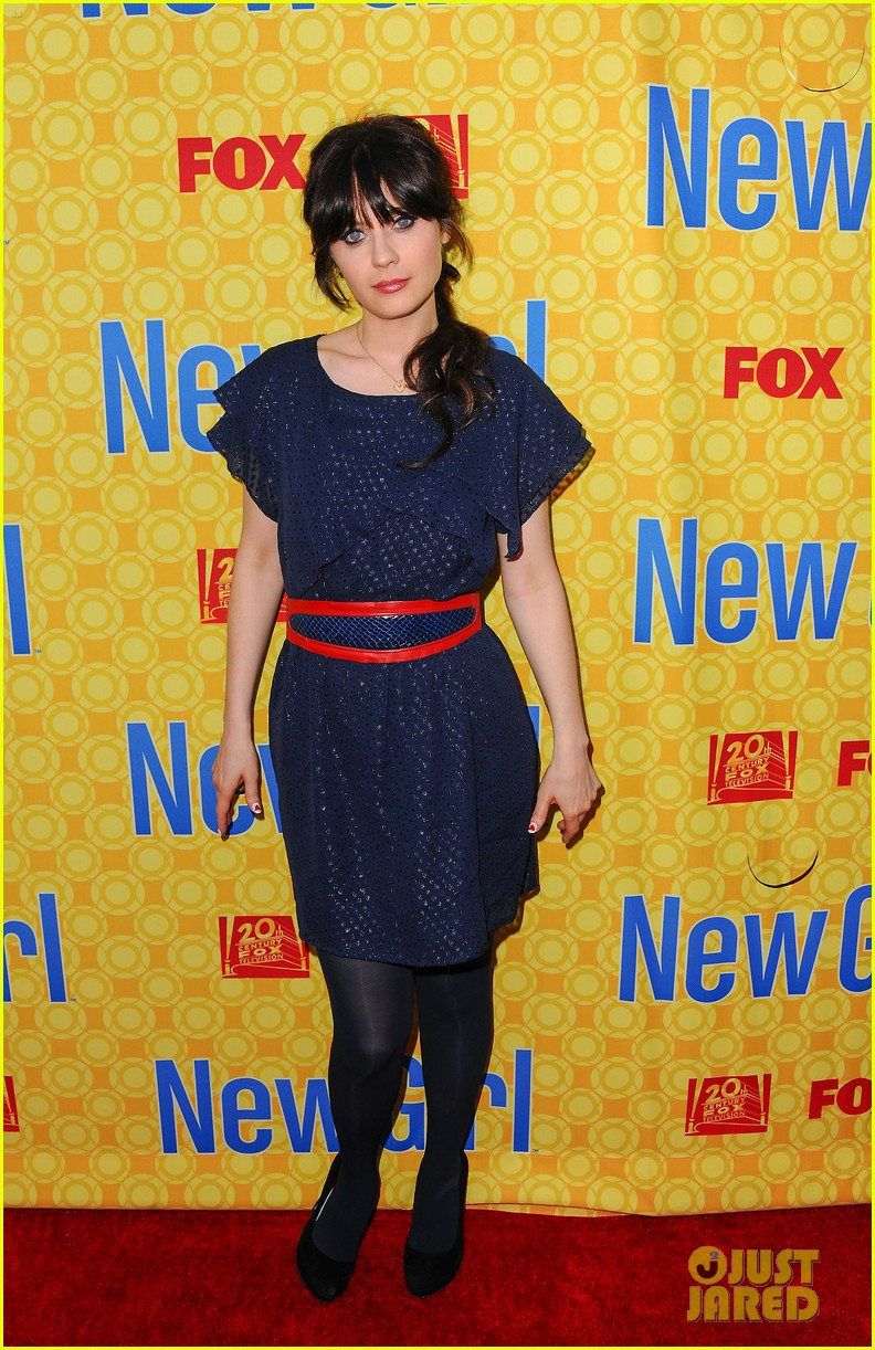 zooey deschanel new girl screening 022659189