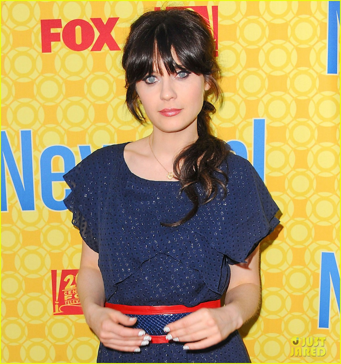zooey deschanel new girl screening 03