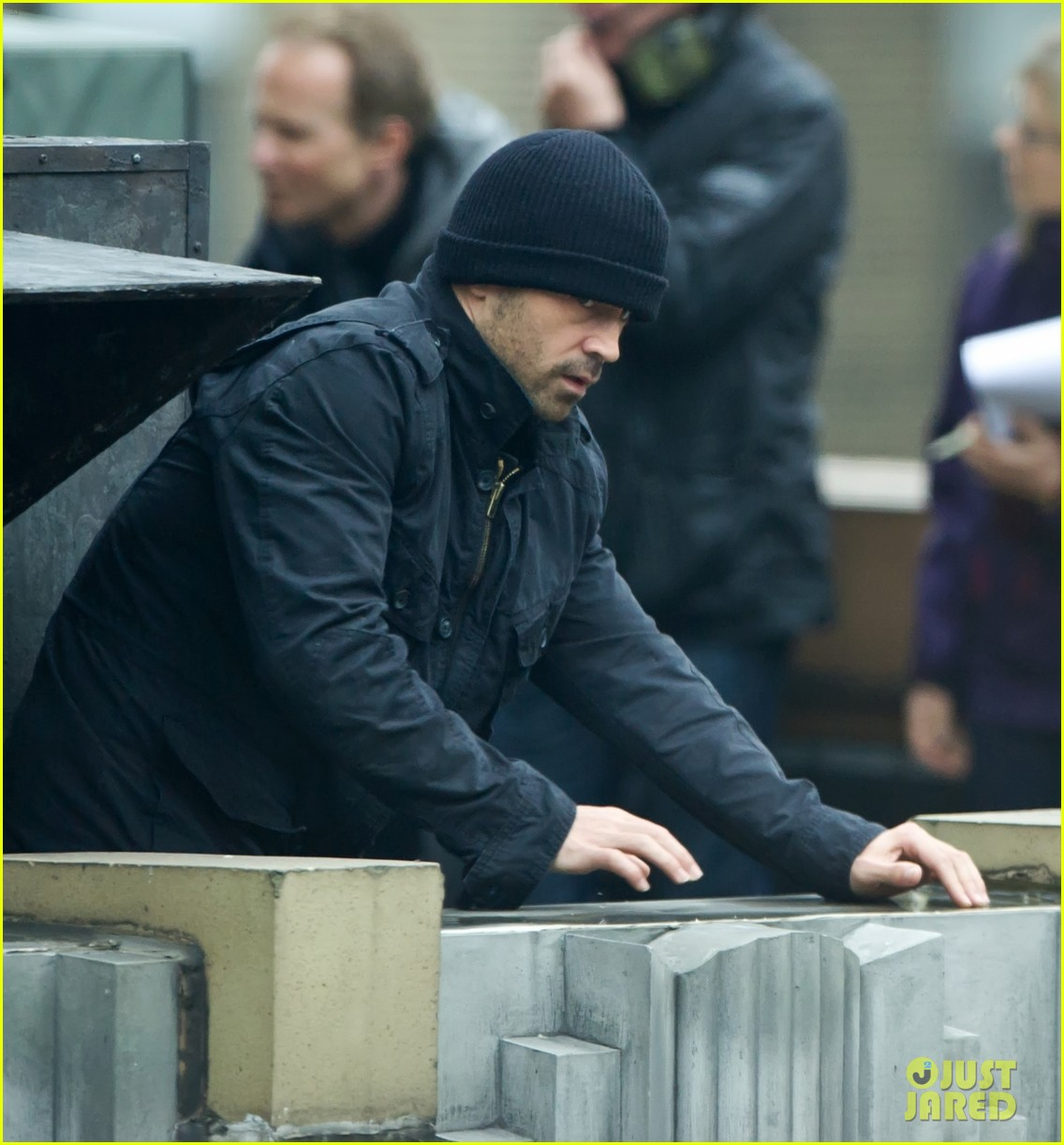 colin farrell dead man down set 142657444