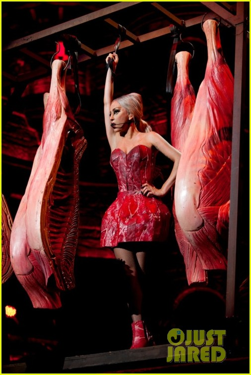 lady gaga another meat dress 02