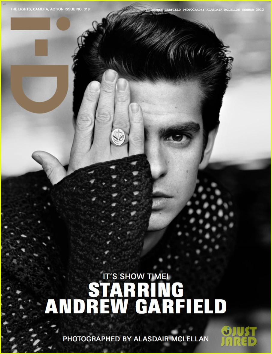 andrew garfield id magazine