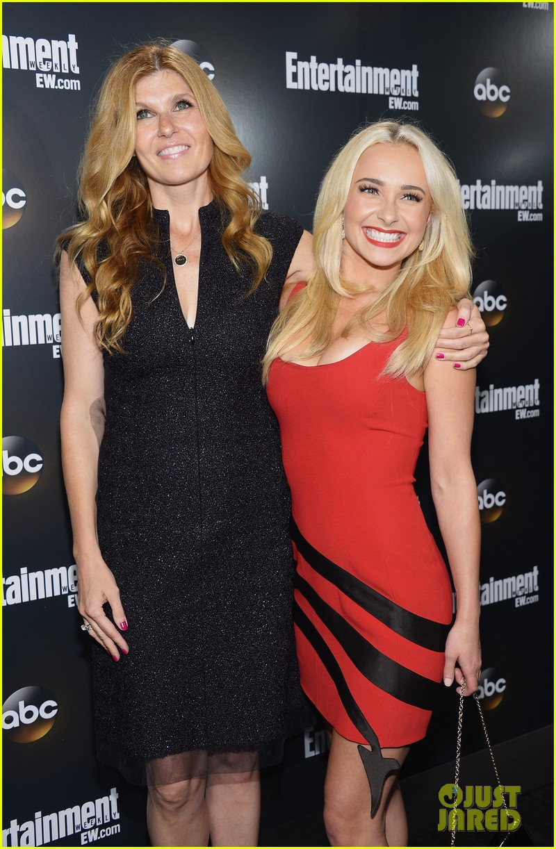 hayden panettiere connie britton abc upfront 032662594