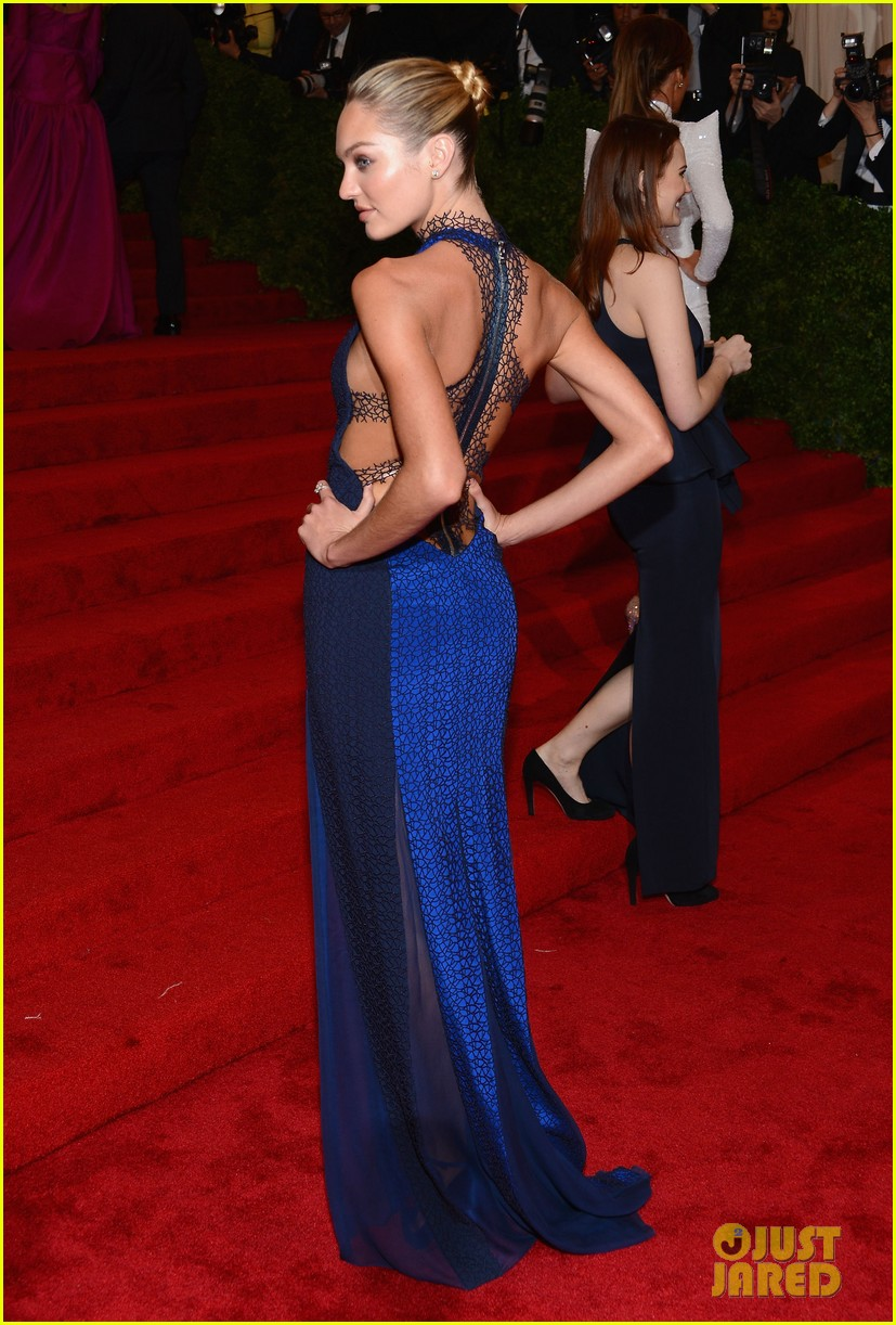 chanel iman candice swanepoel met ball 2012 052658901