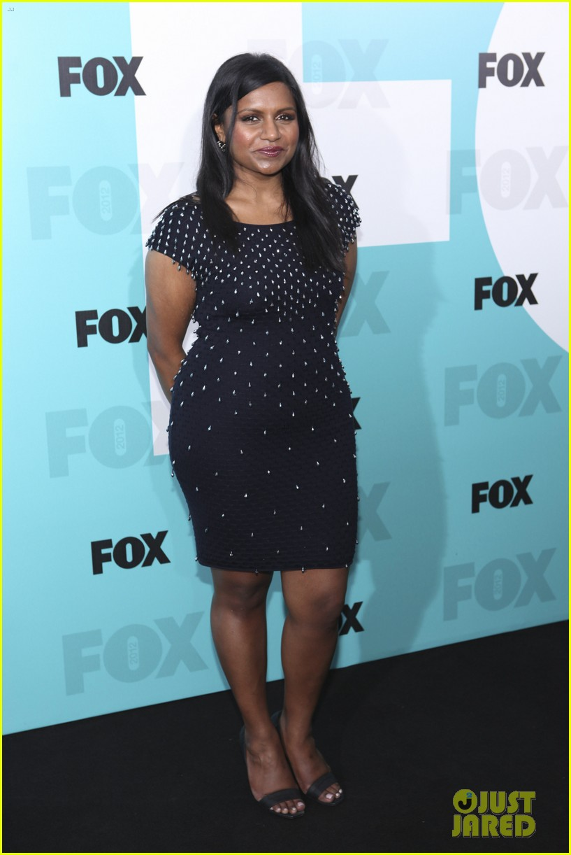 mindy kaling fox upfront with the mindy project cast 03