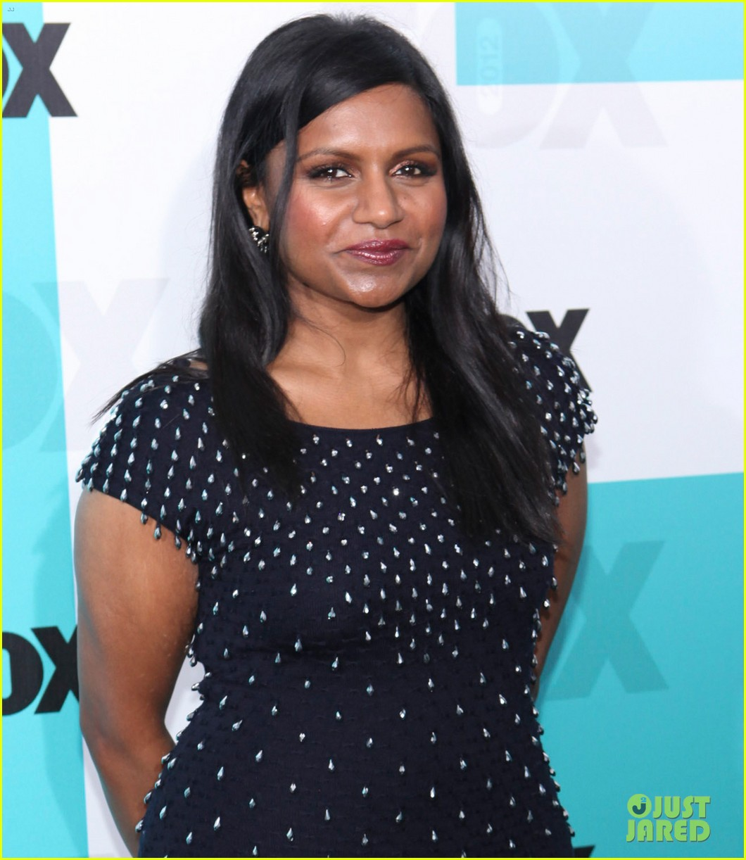mindy kaling fox upfront with the mindy project cast 05