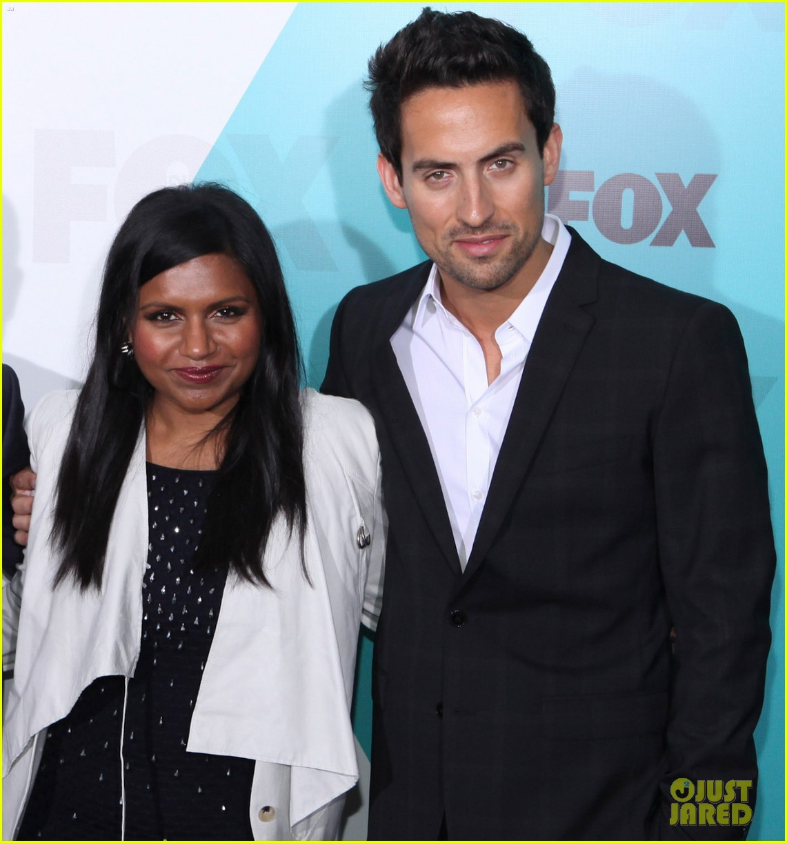 mindy kaling fox upfront with the mindy project cast 06