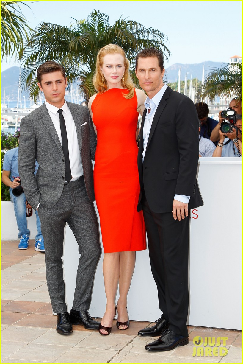 nicole kidman zac efron paperboy photo call 04