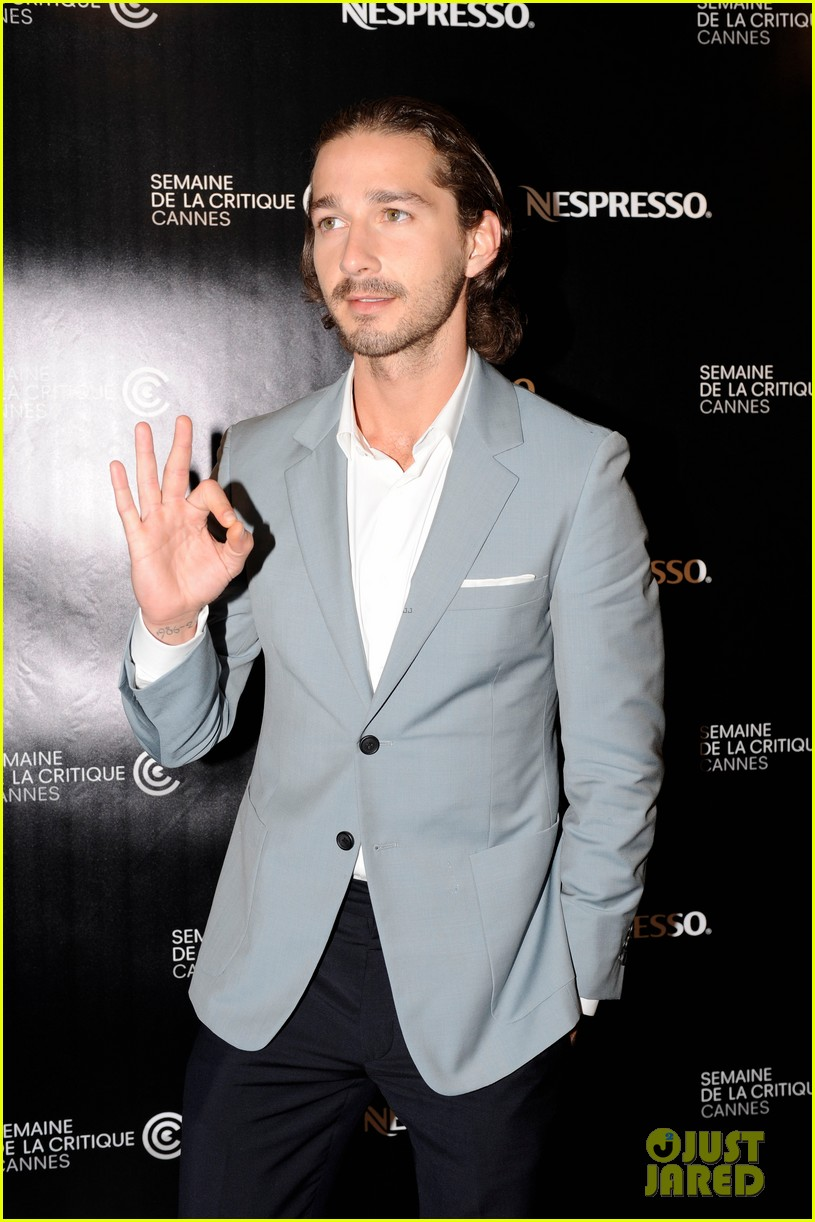 shia labeouf howard cantour premiere cannes 04
