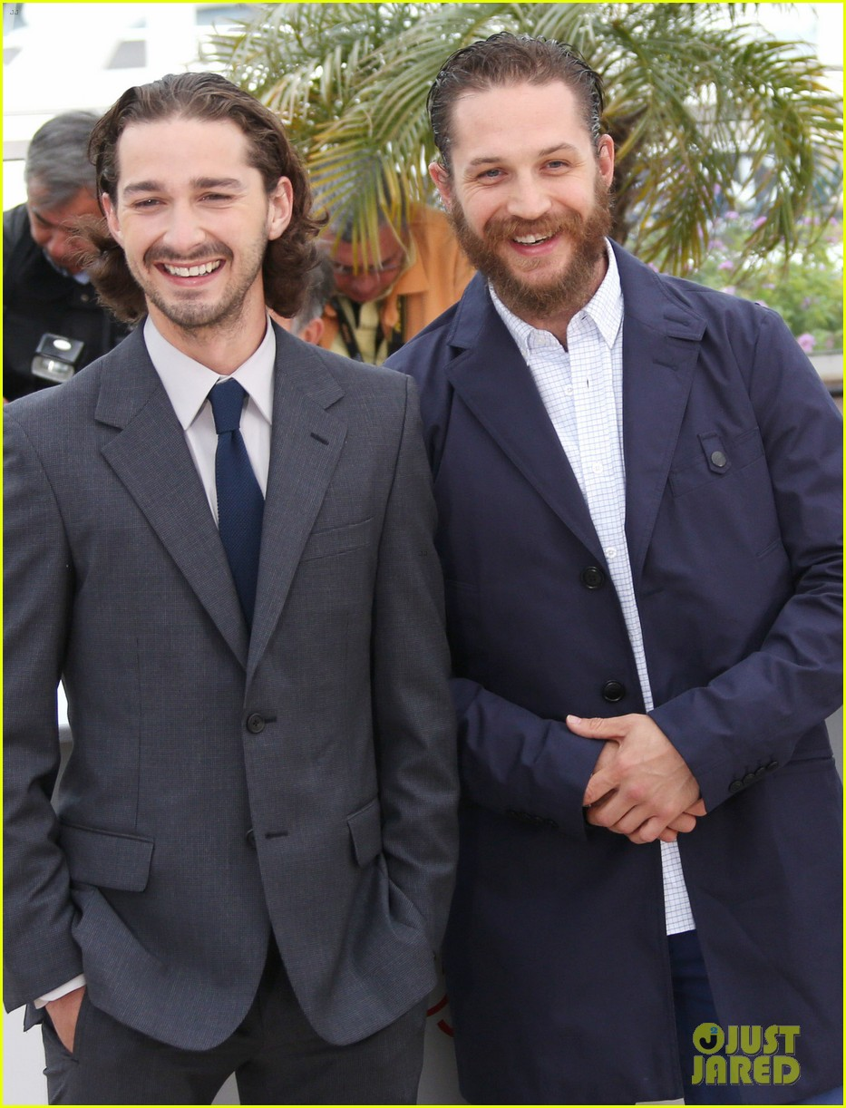 labeouf lawless photocall 04