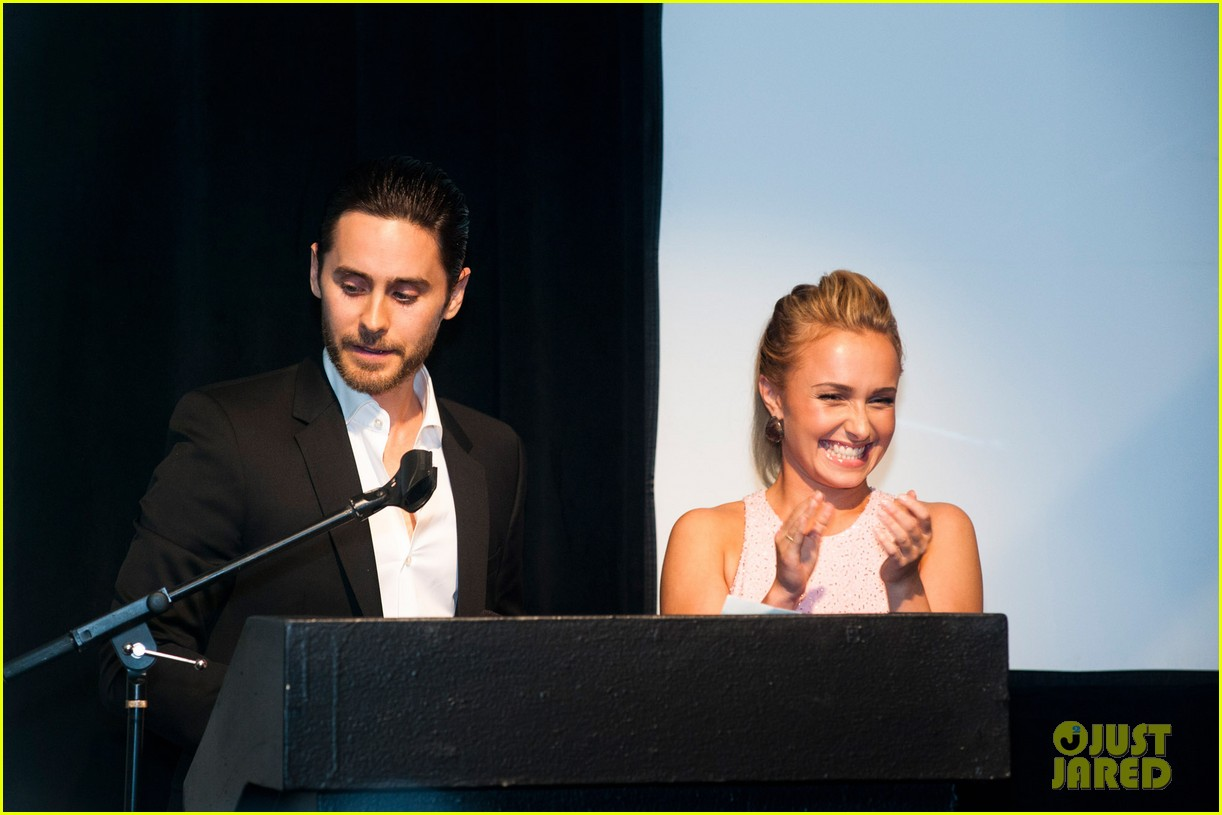 jared leto hayden panettiere wildaid charity gala 02