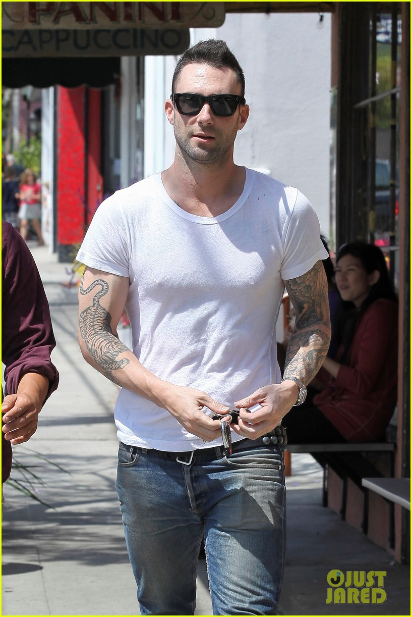 adam levine lunch 11