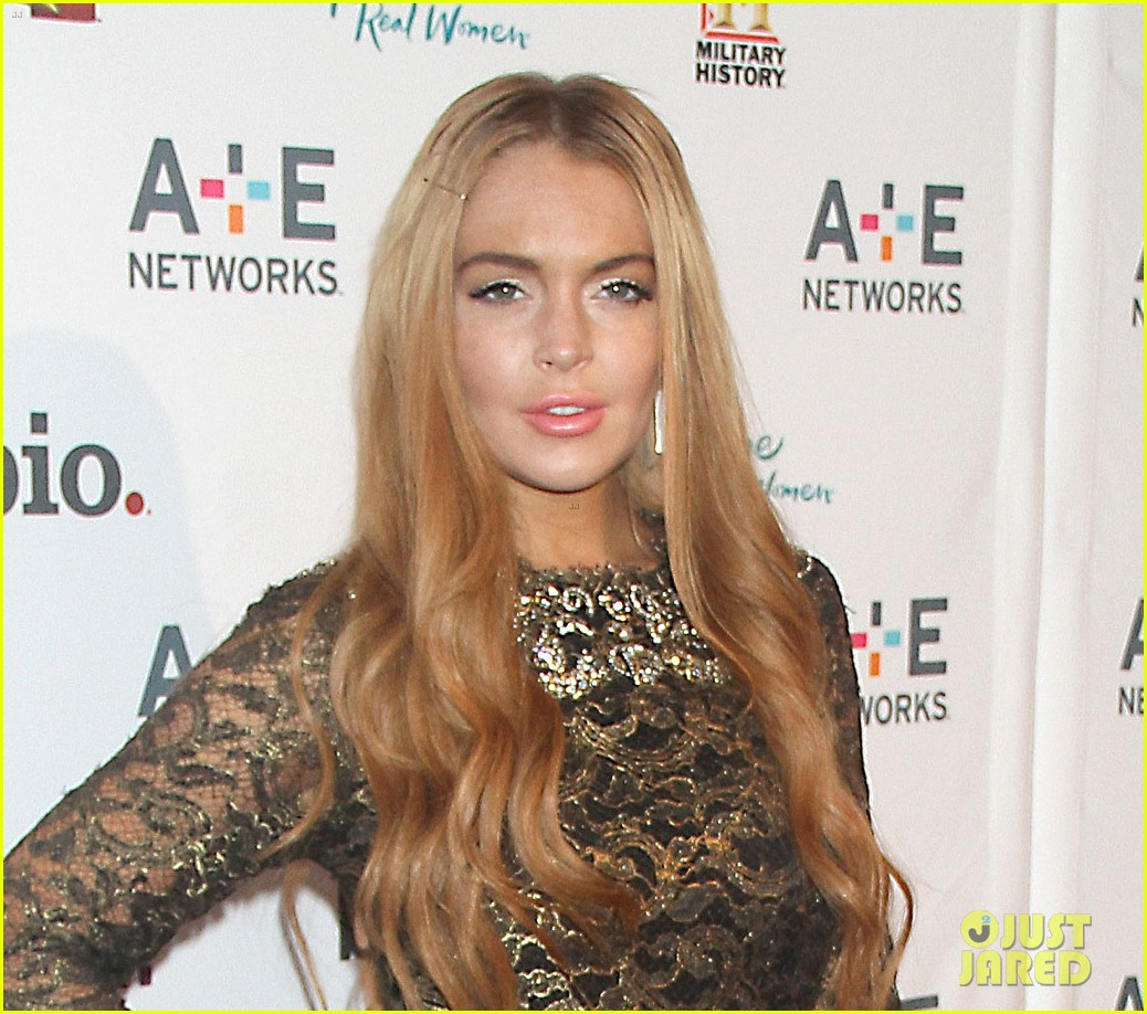lohan a and e upfronts 102659867