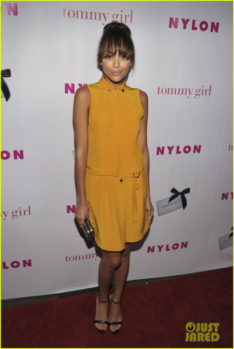 ashley madekwe christa b allen nylons young hollywood party 15