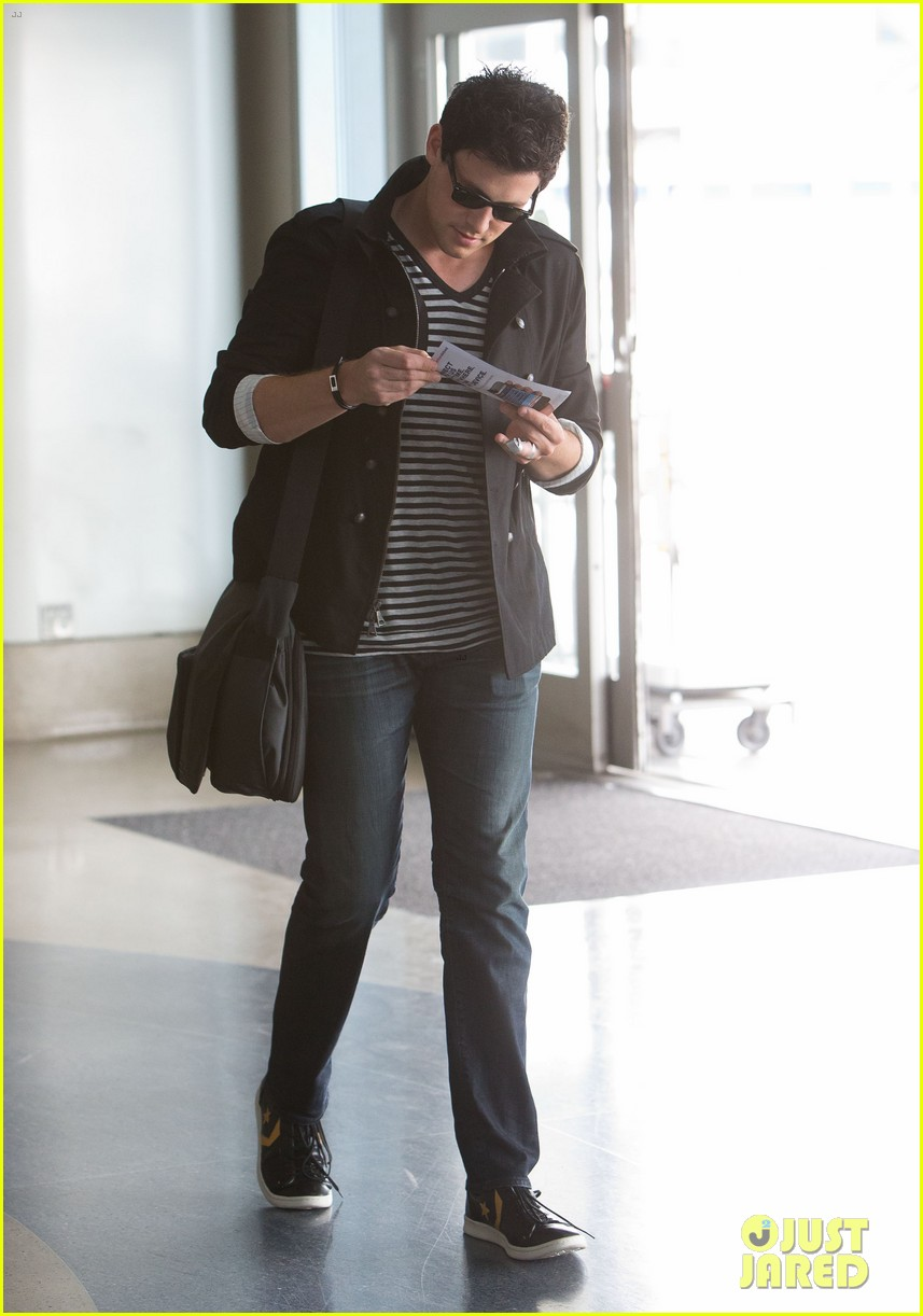 lea michele cory monteith new york bound for new york upfronts 032661242