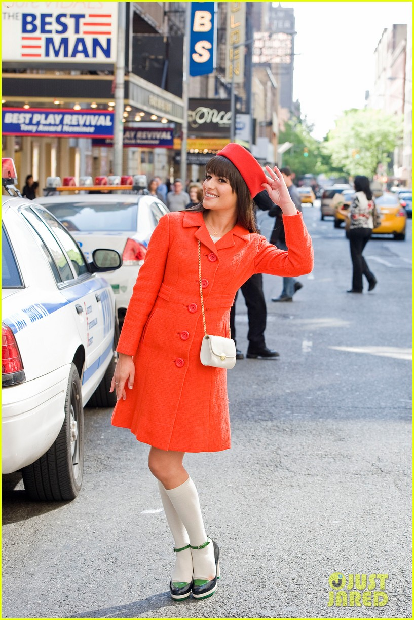 lea michele rachel berry broadway 07