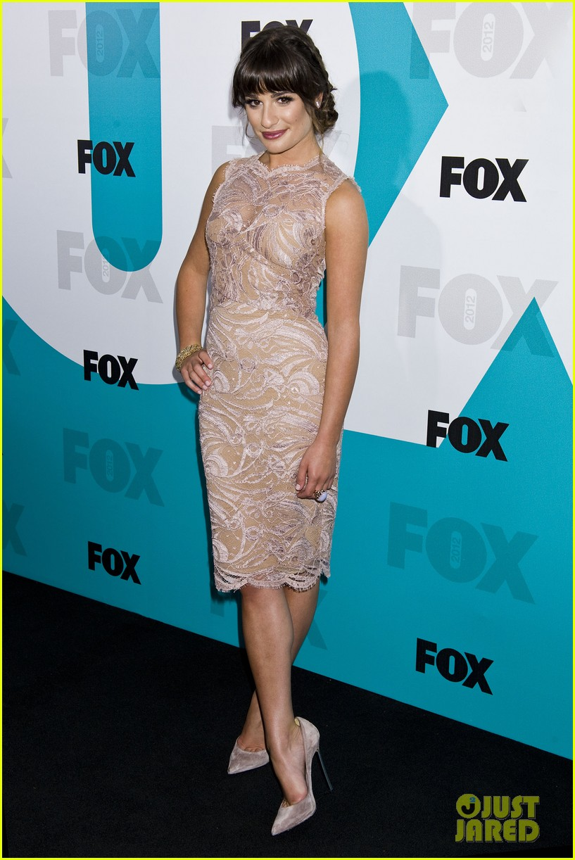 lea michele fox upfronts 09