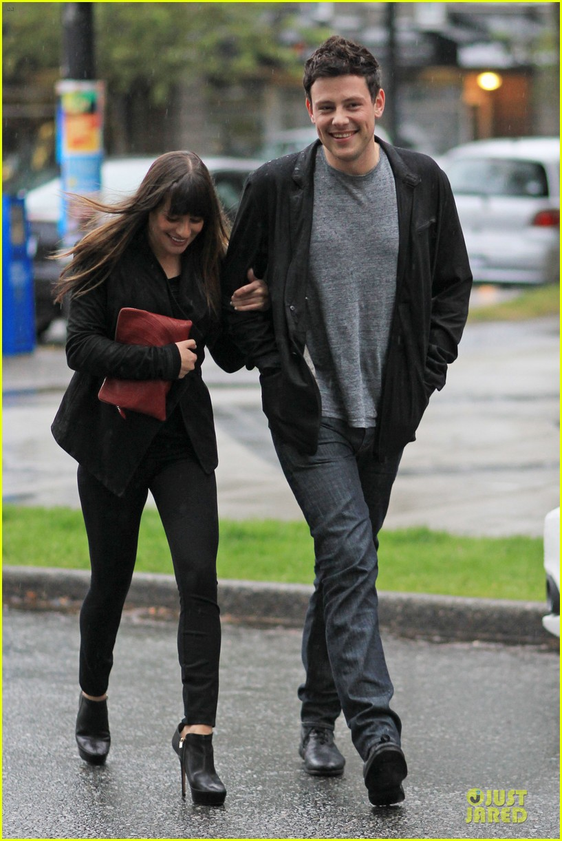lea michele cory monteith sushi vancouver 16